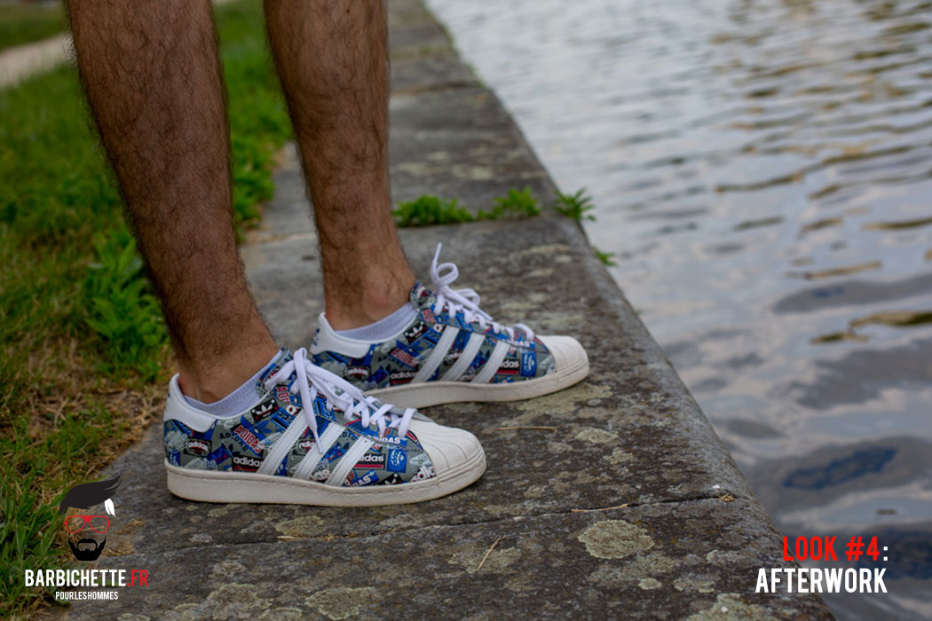 look adidas superstar homme