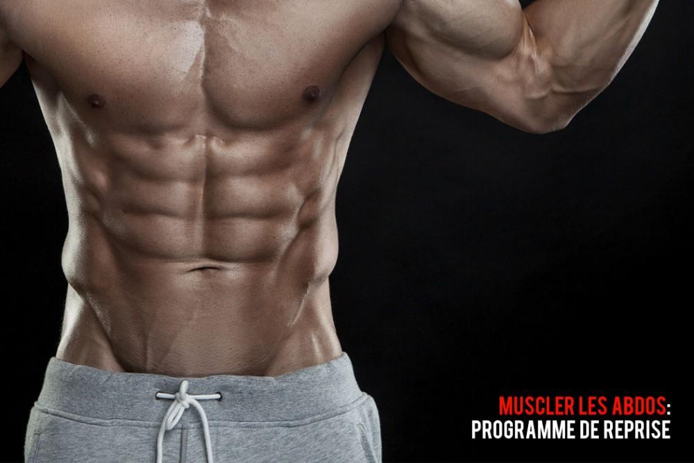 Musculation abdominaux : programme de reprise