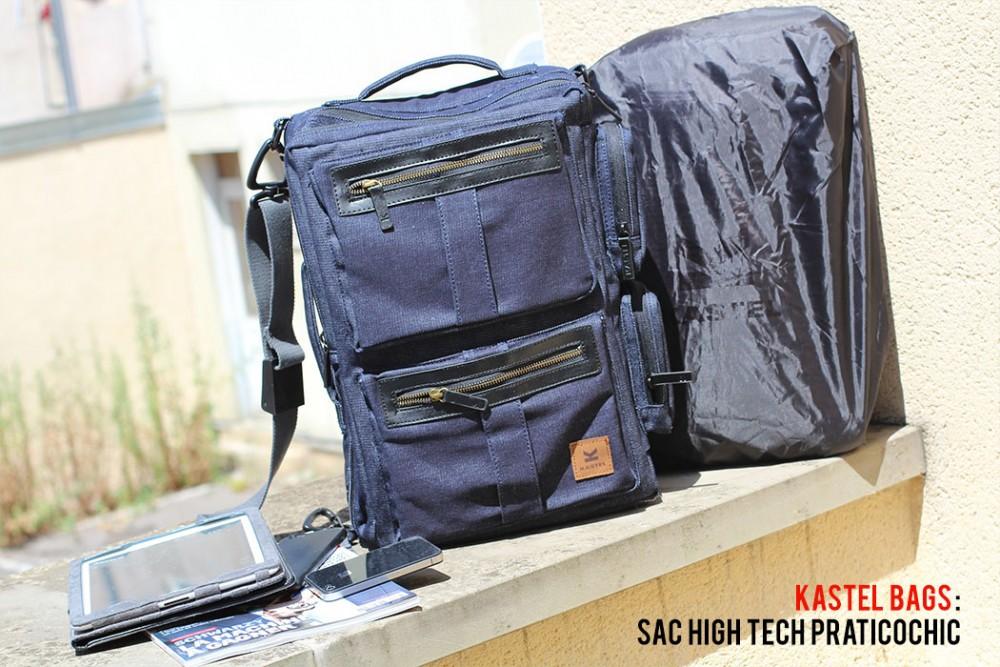 Kastel Bags : sac high-tech praticochic