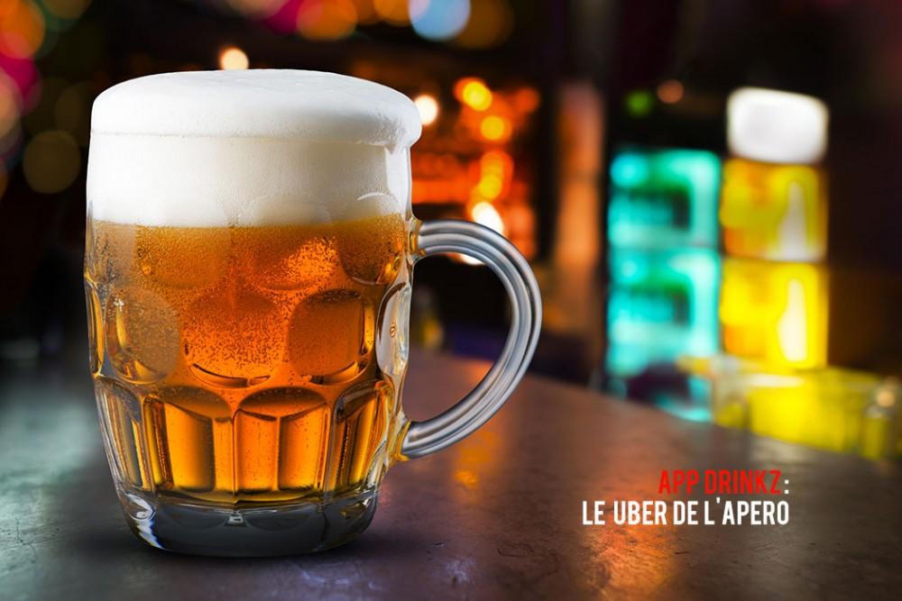 Drinkz : le Uber de la boisson