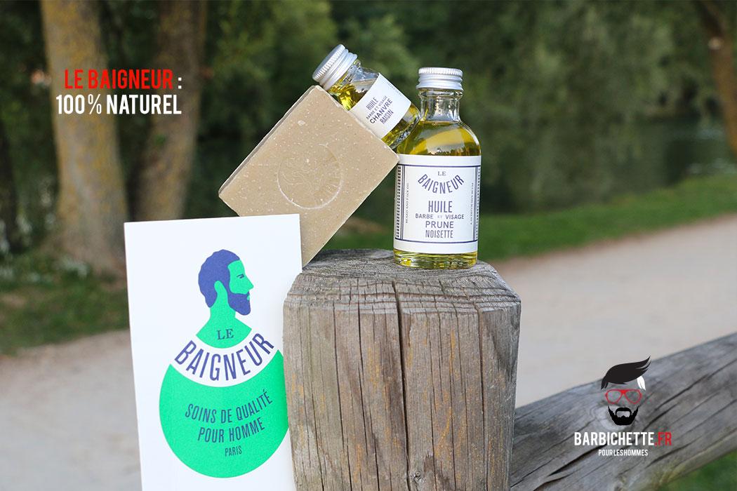 Le Baigneur : artisanal & 100 % Naturel