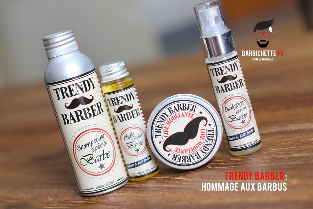 Trendy Barber : Hommage aux barbus