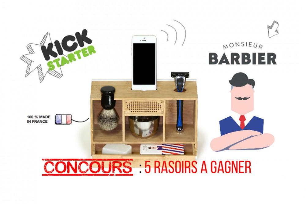 Monsieur Barbier Box : rasez vous en musique