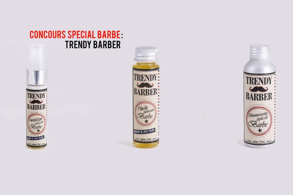 Concours Trendy Barber : spécial barbus