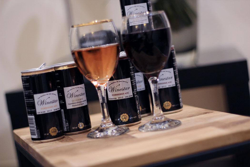 WineStar : le vin en canette