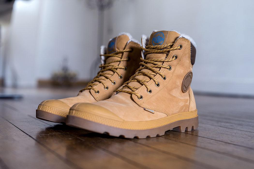 Chaussures Palladium : partez à l'aventure