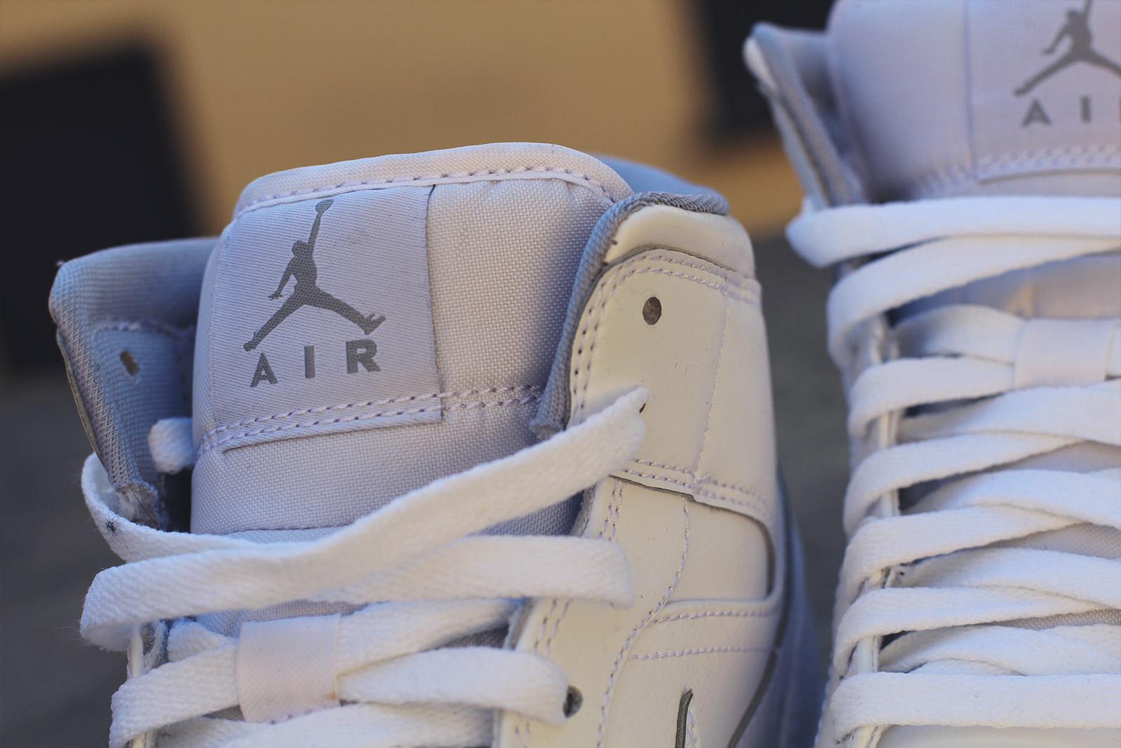 Nike Air Jordan Blanche