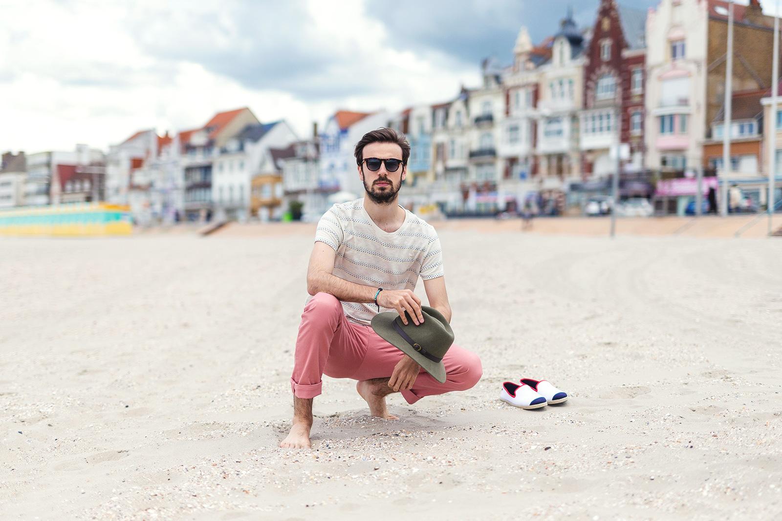 Look plage été homme
