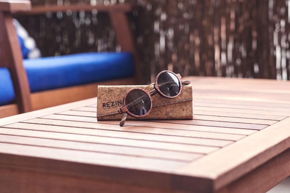 Lunettes Rezin : taillées dans le bois
