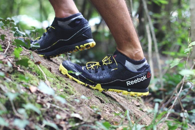 La chaussure agressive spéciale « trail »