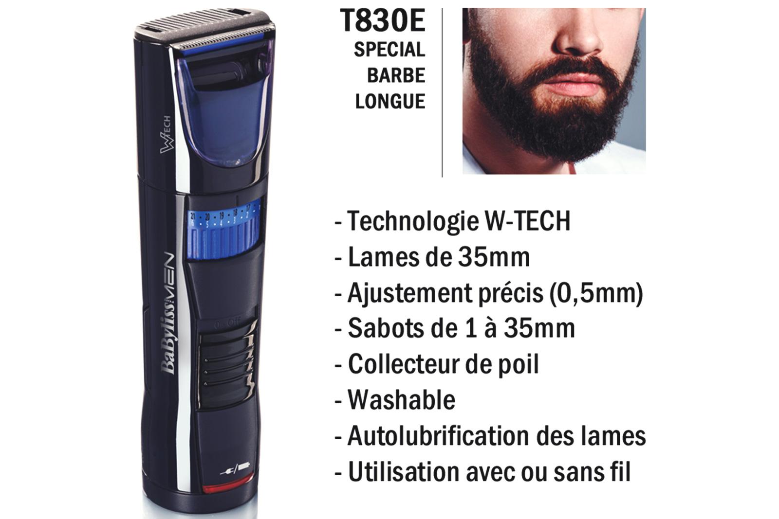 Tondeuse Babyliss T830e