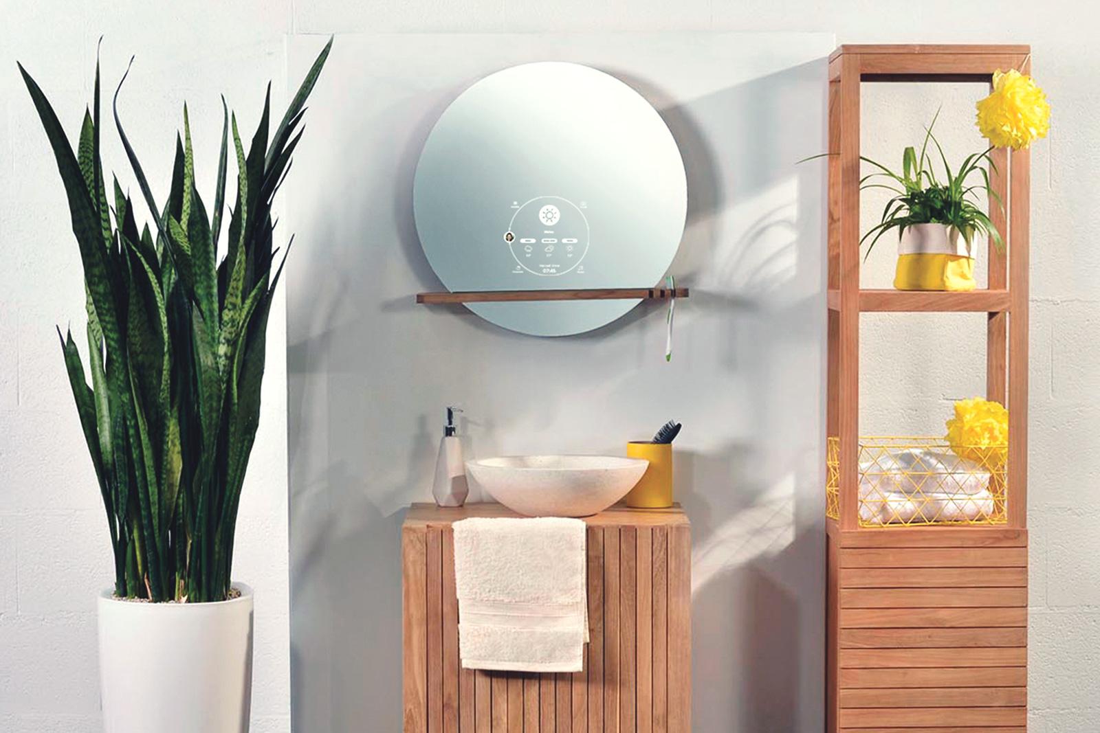 Miroir connecté Ekko par Miliboo