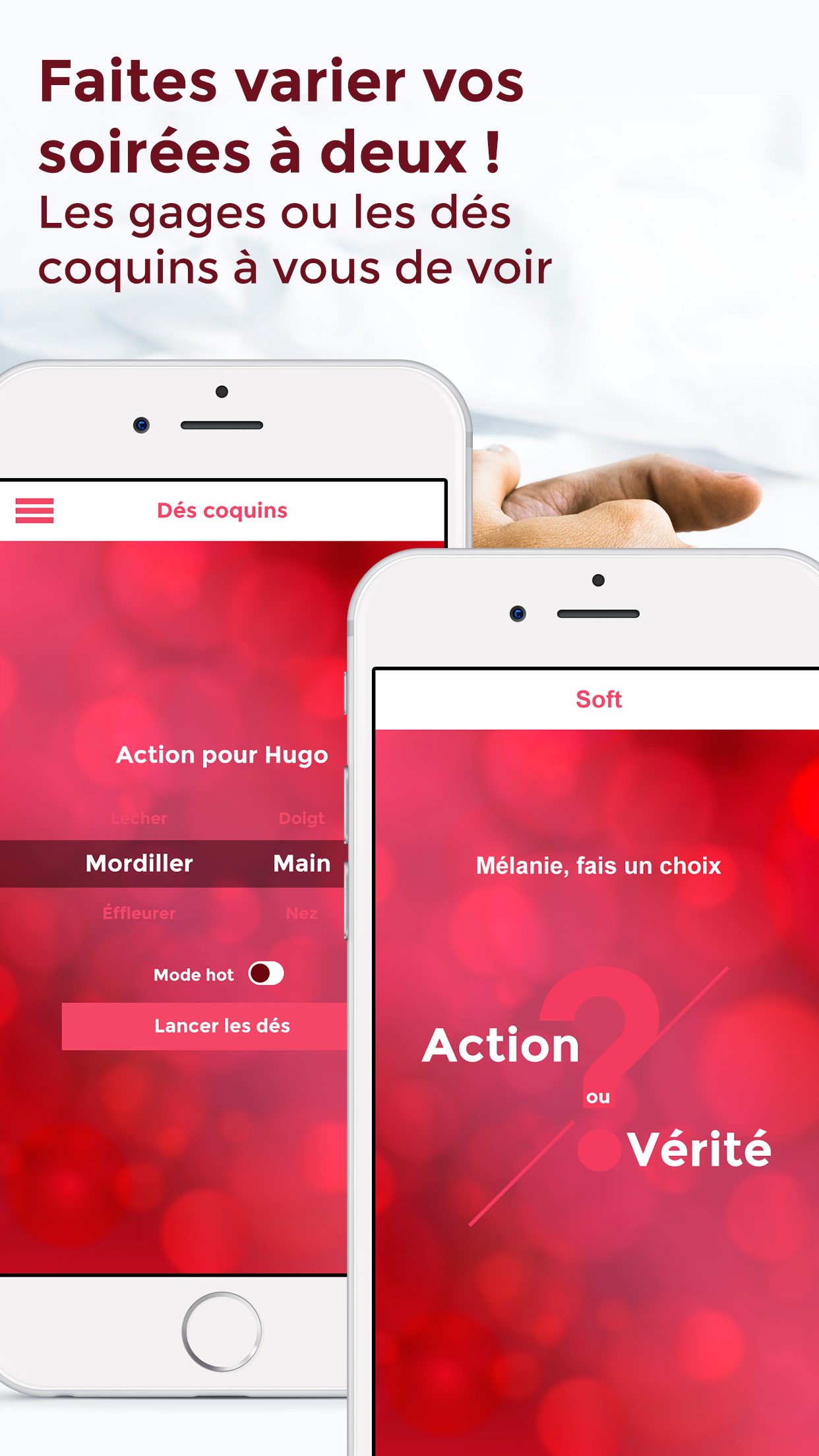 Application Action Vérité iPhone