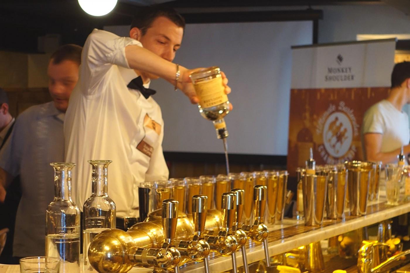 Votez et réveillez votre talent de barman dans le futur bar Monkey Shoulder!