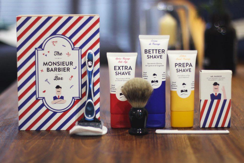 Une gamme de cosmétiques pour la barbe