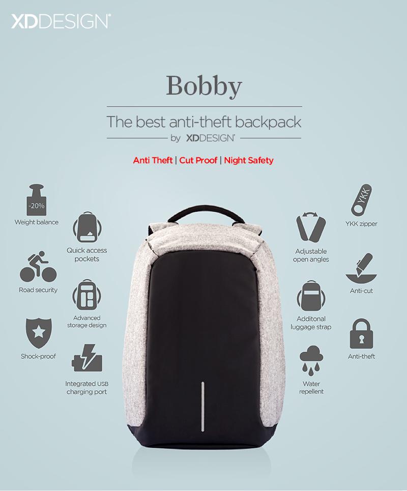 Sac Bobby anti-vol