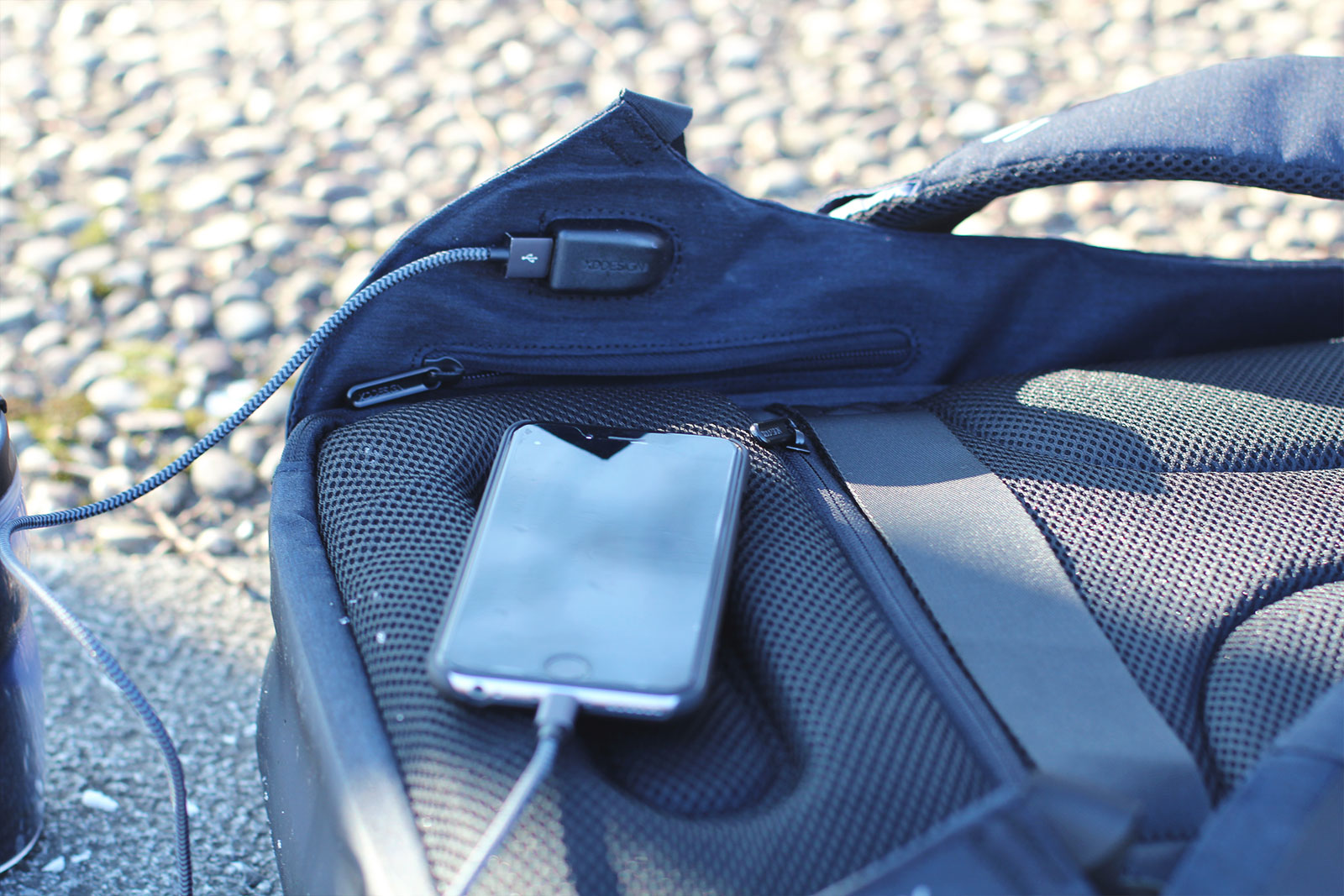Sac recharge USB