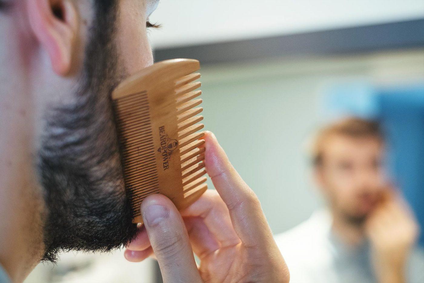 Une barbe plus dense et plus fournie