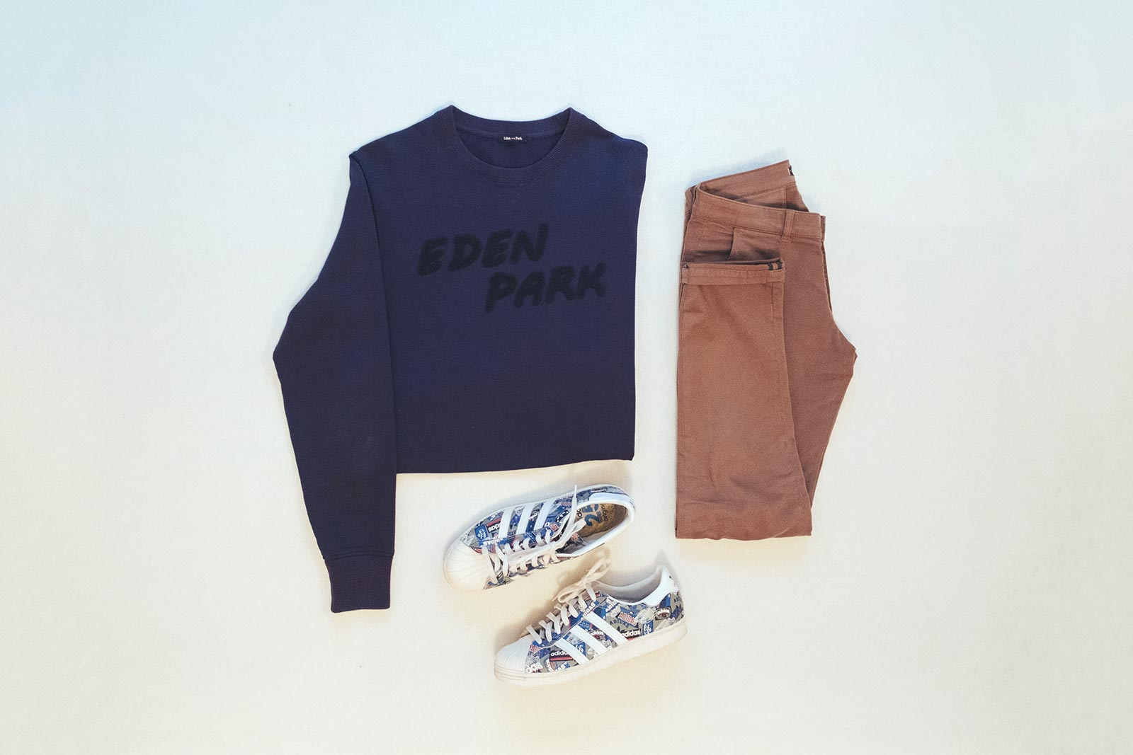 Look Eden Park printemps été 2017 Sweat