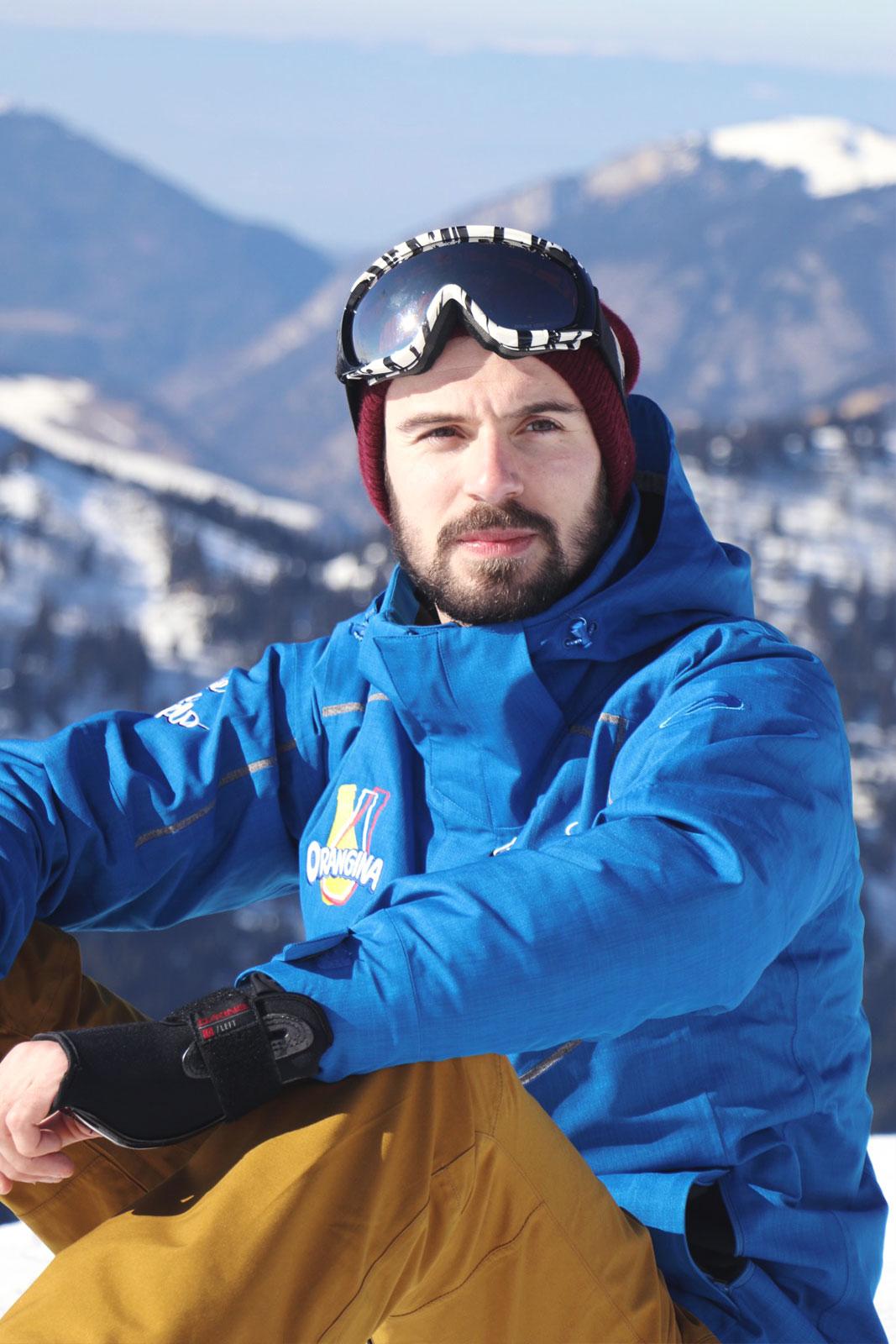 Tenue snowboard