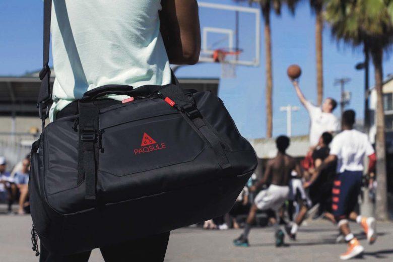 Paqsule : le sac de sport auto-nettoyant