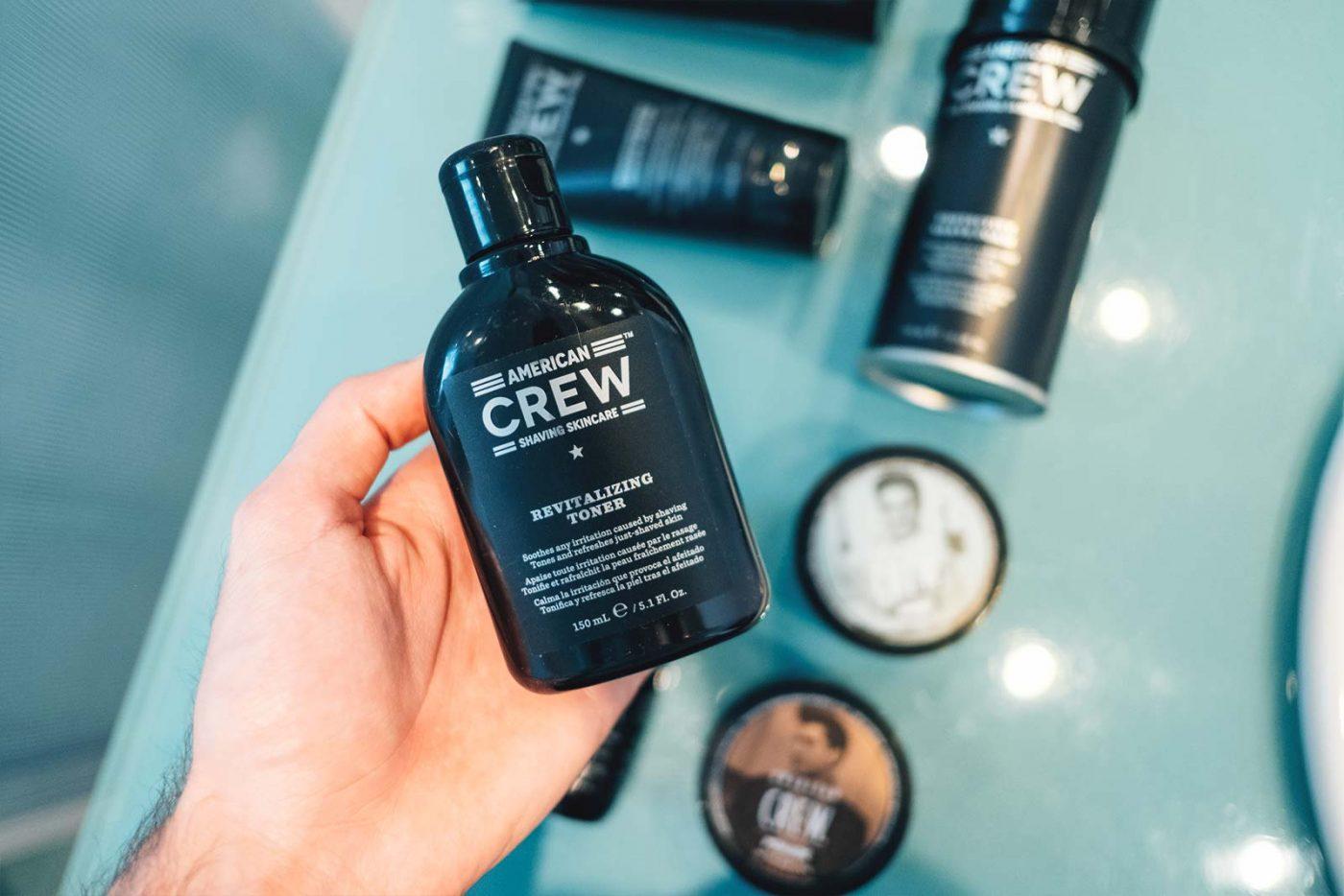 American Crew : des cheveux à la barbe