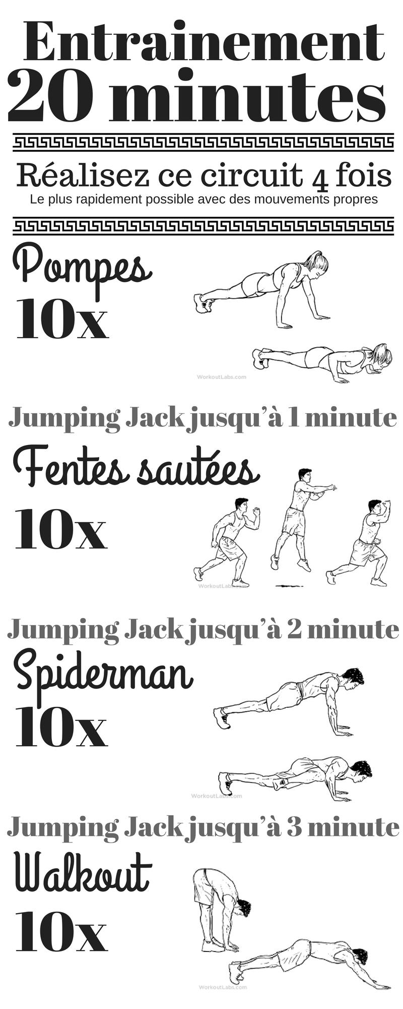 Entrainement Sport 20 Minutes