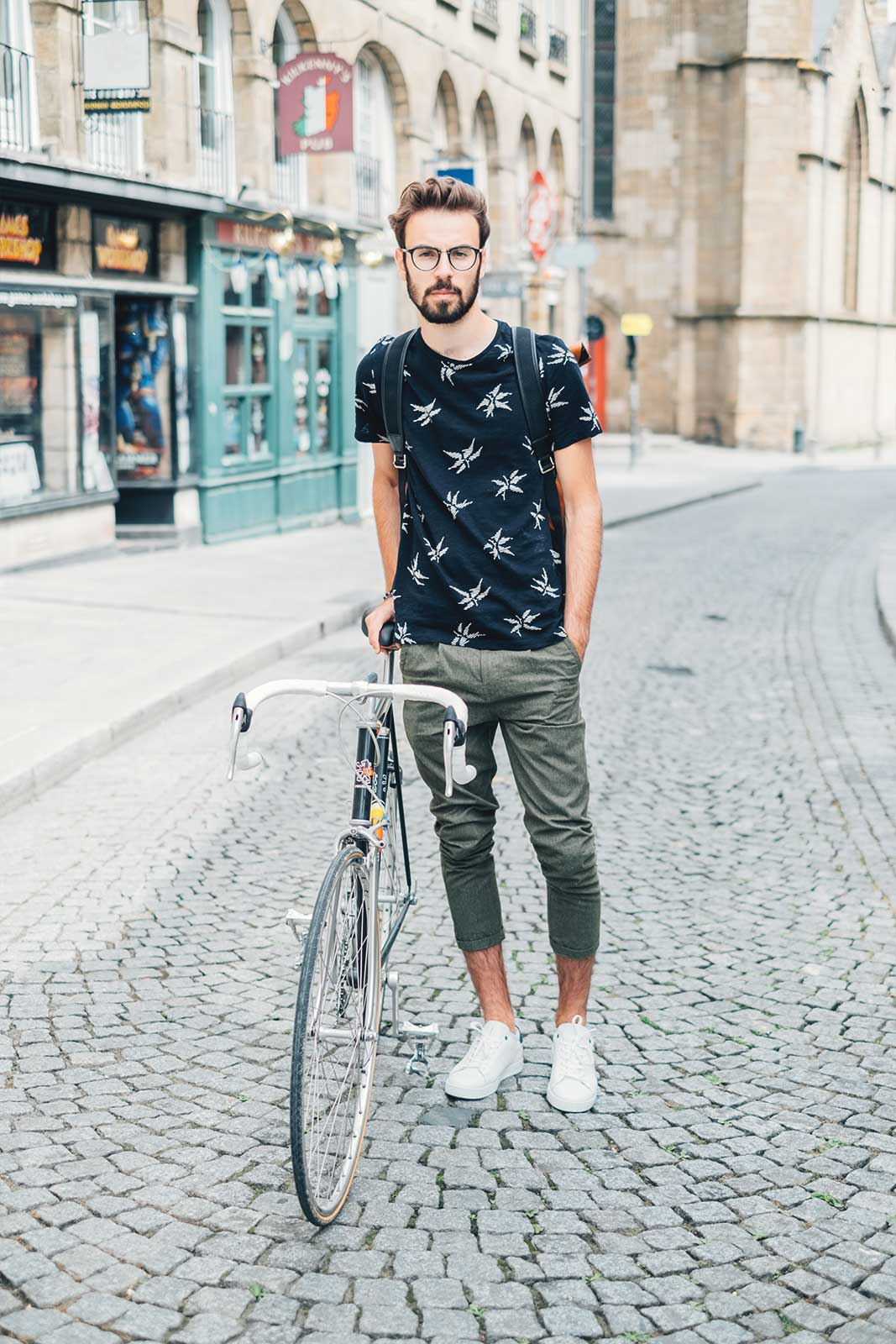 Look Masculin vélo