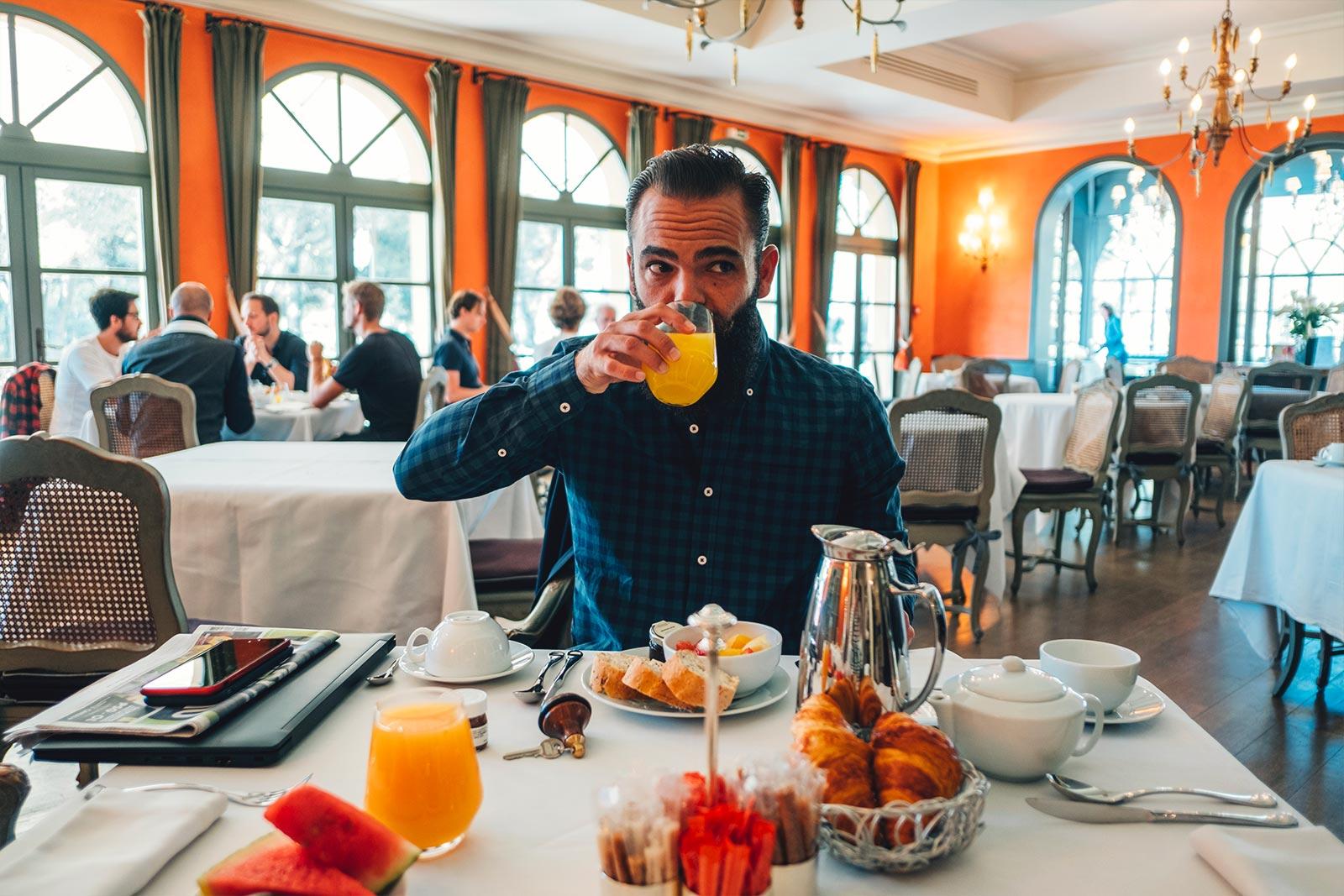 l'homme tendance Hotel du Castellet