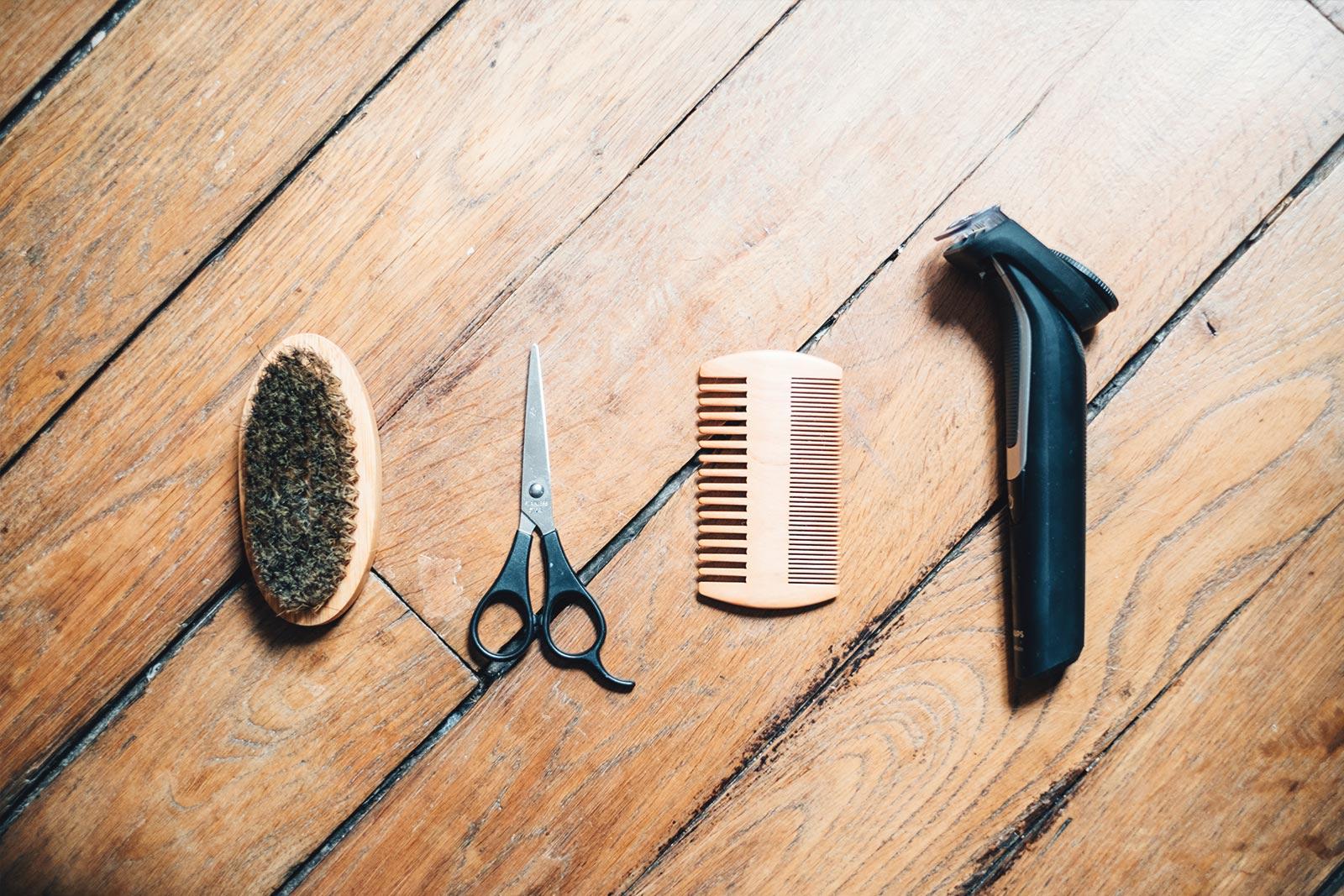 Astuces couper une barbe