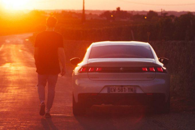 Peugeot 508 en vidéo